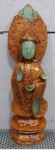 Tượng bồ tát và tượng phật tổ bằng ngọc bán