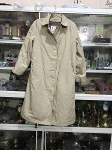 Áo Dạng Măng Tô Màu Kem - MADE IN USA Đồ Xưa - hàng xách Tay Từ Mỹ