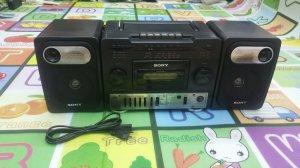 Đài Radio Cassette SONY CFS-1033 (Đài đẹp xuất sắc)