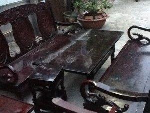 bộ salon tay cuộn xưa giá 4t4