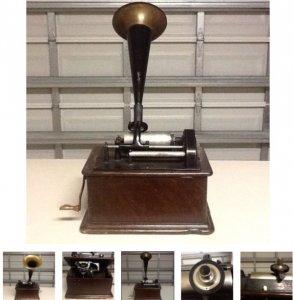 Bán máy loa kèn edison, đĩa ống