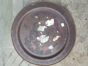 Mâm đồng xưa hình 12con giáp