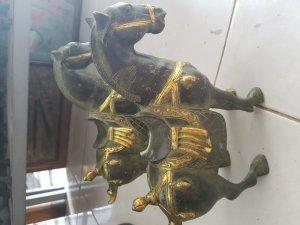 Cặp ngựa bằng đồng xưa, rất đep