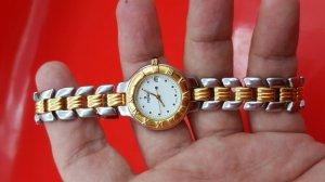 Đồng hồ FENDI nữ đơmi, 3 kim 1 lịch hàng thụy sỹ xách tay