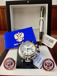 ĐÃ GIAO LƯU XONG  mã số 26A TỰ ĐỘNG : NEW 2017-2018  BẠC khối 925 Tổng thống Nga russia Nga