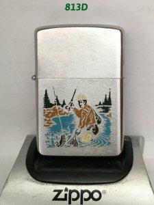 Z. 813D _brush chrome 1980 -chủ đề :câu cá