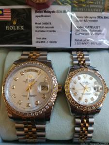 Rolex Malaysia, Longines, Tissot, Omega Thụy Sỹ Nam Nữ New Fullbox 1.498USD giảm giá còn 325USD