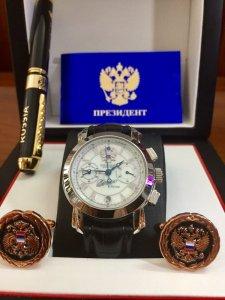 Trình Làng mã số 33A: Đồng hồ Nga President chữ ký TT - Putin NEW 2017  POLJOT
