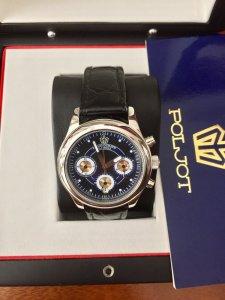 Trình Làng mã số 7A: chiếc đồng hồ poljot 6 kim máy 3133  đẳng cấp  ấn tượng
