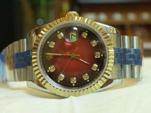 đồng hồ rolex day date 6 số 118238 chạy máy eta rado thuỵ sĩ bọc vàng