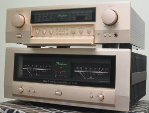 Bộ Pre & Power. ACCUPHASE C 2120. ACCUPHASE A 46.