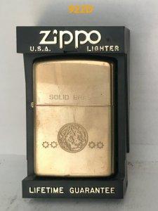 z 922D -brass chu niên 32-92  Khắc mòn hình đầu HỔ
