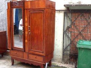 tủ áo xưa cẩm lai gõ đỏ