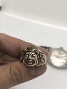 Hcm - Nhẫn Phật Thích Ca Vàng 10k