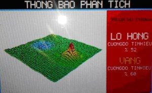 BÁN MÁY DÒ VÀNG HIỂN THỊ HÌNH ẢNH 3D PHADUMA TM8800