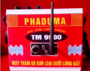 BÁN MÁY DÒ VÀNG CỐM PHADUMA TM9900-A1