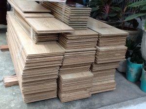30m2 ván sàn gỗ ép nhập