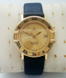 Omega Constellation 18k