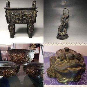 Giao lưu nhanh 4 món đồ đồng cổ xưa