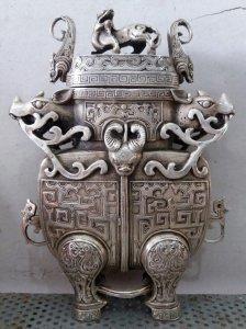 Âm đồng mạ bạc xưa