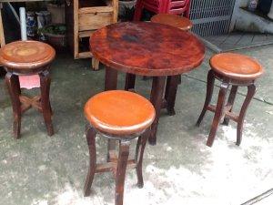 bộ bàn tròn xưa