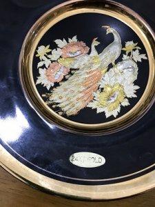 Dĩa Sứ Mạ Vàng 24 KT GOLD - Đồ...