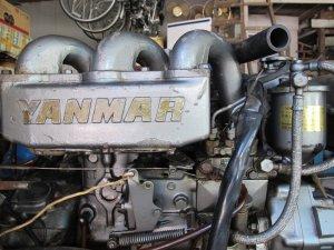 Giao lưu máy thủy động cơ YANMAR 3 - Made in JAPAN