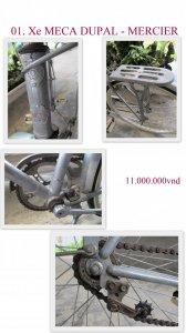 Bộ sưu tập xe đạp cổ MERCIER & JAPAN