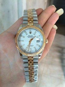 đồng hồ rolex day date 6 số 118238 thuy sĩ chạy máy eta rado bọc vàng