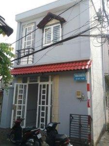 Nhà sổ hồng, mặt tiền hẻm 2463 Huỳnh Tấn Phát, Nhà Bè: 650 triệu