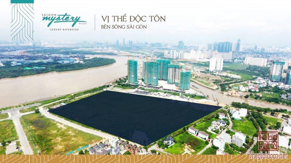 Sài Gòn Mystery Villa - Vị Trí Độc Tôn Bên Sông Sài Gòn - Chủ Đầu Tư Hưng Thịnh - LH 0932355523