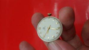 Đồng hồ omega nữ vỏ bọc vàng cọc học trò xưa chính hãng