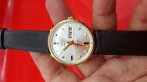 Đồng hồ benrus 2 lịch xưa chính hãng có hộp