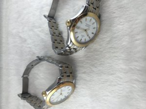Omega Seamaster Professional 120 Chronometer Automatic demi 14k gold Cal1120 & Bracelet demi