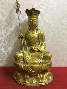 Địa tạng vương bồ tát rất đẹp và thần thái...Mời các bác hữu duyên Thỉnh Phật ạ! Chất liệu: Đồng đúc