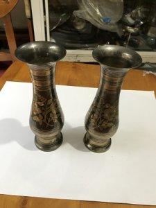Cặp Bình Bông - Đồ Xưa - Hàng xách Tay Từ Mỹ