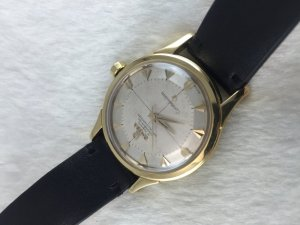 Omega Constellation Pie Pan Chronometre Automatic solid 18k gold Cal505 dial's Arrowhead