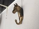 Đầu Ngựa Treo Tường Bằng Đồng USA Nguyên Khối - Đồ Xưa