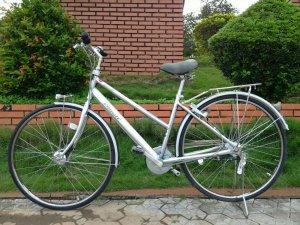 Xe đạp Bridgestone bạc - Hàng bãi Nhật