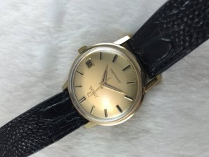 Omega Seamaster Automatic solid 18k gold Case & Dial's 18k Cal565