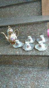Bộ bình trà châu âu