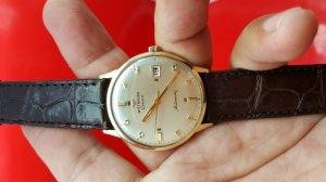 Đồng hồ wittnauer vỏ bọc vàng cọc số to xưa chính hãng