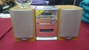Đài CD Radio Cassette SANYO (Dàn Mini xinh xắn dễ thương)