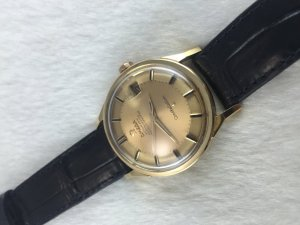 "Omega Constellation Pie Pan Chronometer Automatic ""dog leg"" solid 18k gold Case & Dial's 18k Cal561"