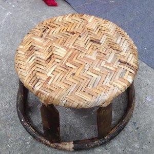 Ghế mây handmade Điện Biên cao 20 cm siêu bền