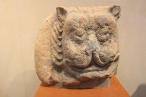 Những cổ vật văn hóa Óc Eo đang được trưng bày tại Đà Nẵng