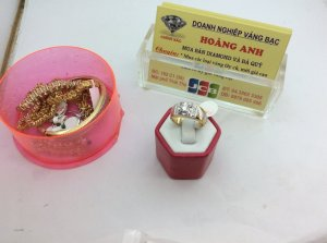 Nhẫn nam gắn kim cương H10185