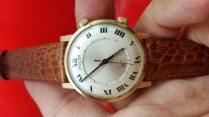 Đồng hồ LeCoultre / Jeager LeCoultre báo thức 10k Gold ss xưa chính hãng Thụy Sĩ