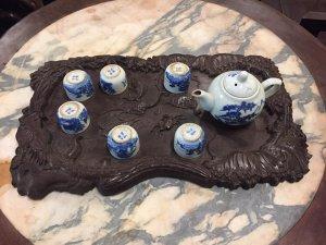 Khay trà lối Huế xưa bán có giá 800k