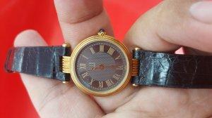 Đồng hồ Dullhill nữ vỏ vàng khối 18k chính hãng thụy sỹ